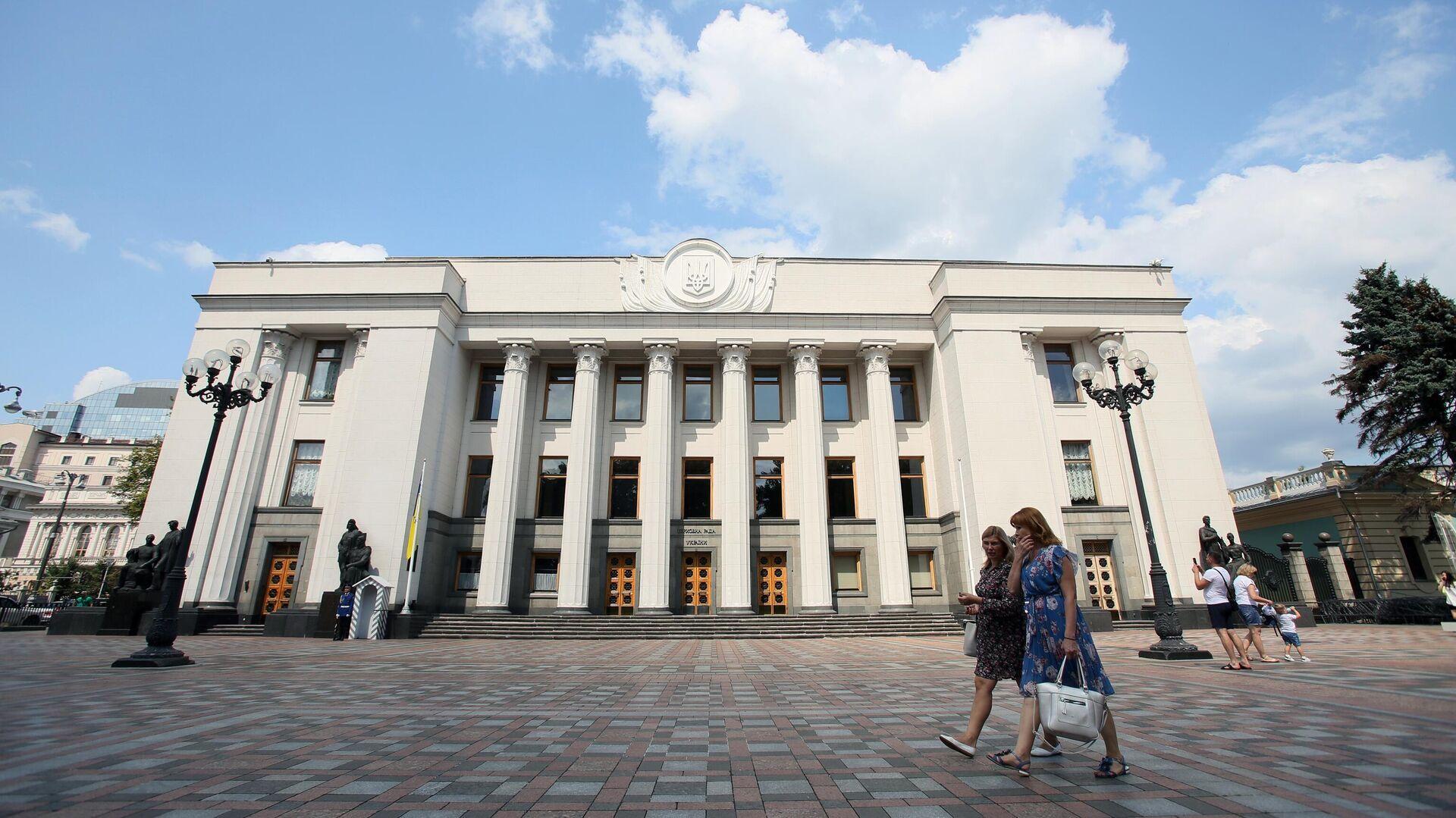 Здание Верховной рады Украины в Киеве - РИА Новости, 1920, 13.10.2021