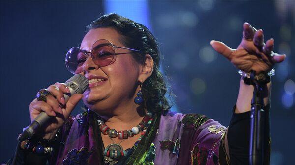 Певица Мариам Мерабова выступает на Международном джазовом фестивале Koktebel Jazz Party - 2021