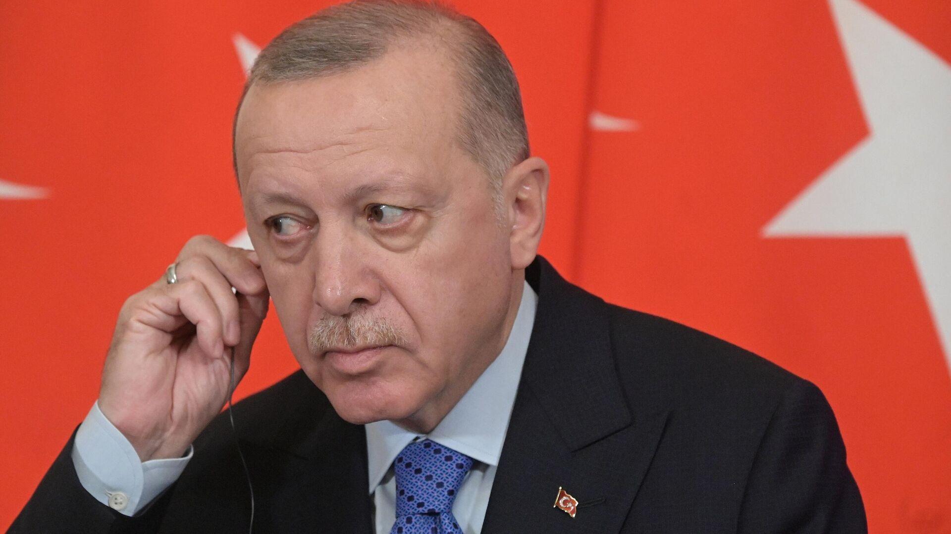 Президент Турции Реджеп Тайип Эрдоган - РИА Новости, 1920, 26.09.2021