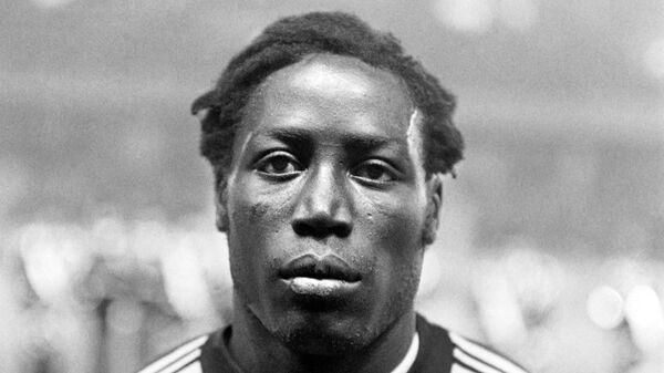 Футболист Жан-Пьер Адамс, фотография 13 октября 1972 года