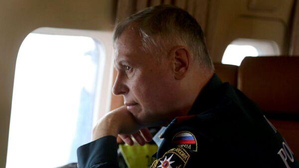 Врио министра РФ по делам гражданской обороны, чрезвычайным ситуациям и ликвидации последствий стихийных бедствий Александр Чуприян