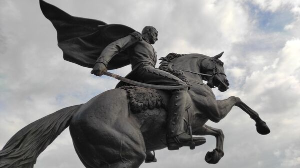 Памятник генералу Котляревскому в Феодосии