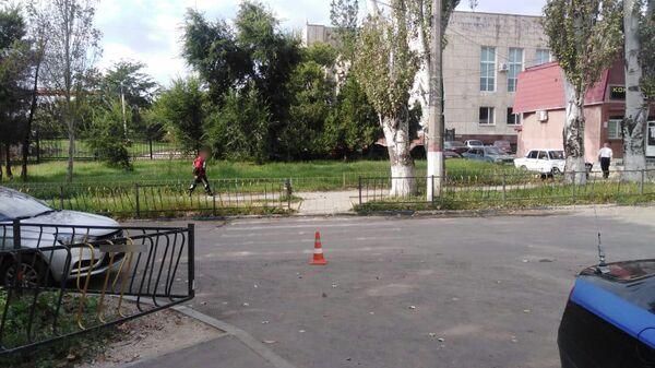 В Керчи на пешеходном переходе сбили ребенка