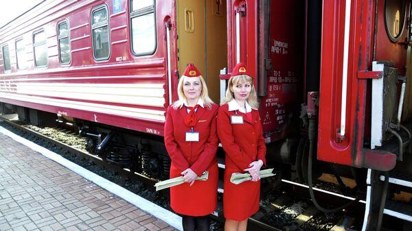 ДНР запустила первый пассажирский поезд, следующий к границе с Россией