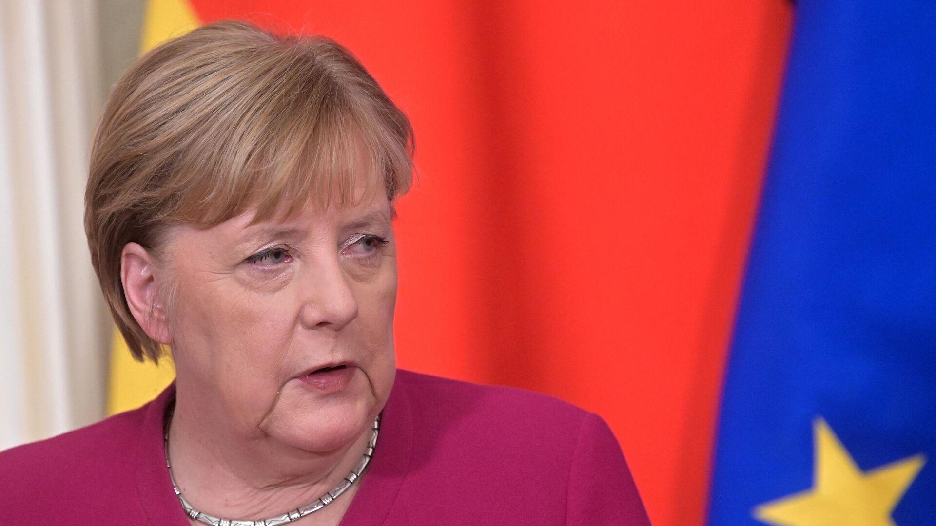 Канцлер Германии Ангела Меркель - РИА Новости, 1920, 19.09.2021