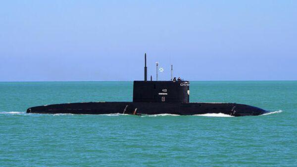 Подводная лодка ЧФ Великий Новгород