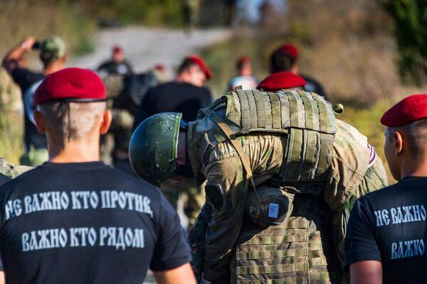 В отряде Русь прошел отбор кандидатов для участия в испытаниях на право ношения крапового берета.
