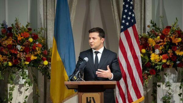 Президент Украины Владимир Зеленский принимает участие в мероприятиях 76-й сессии Генассамблеи ООН в Нью-Йорке