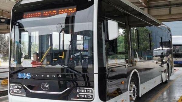 Городской электробус Yutong ZK6116BEVG