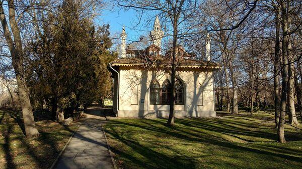 Дом Палласа в парке  Крымского федерального университета