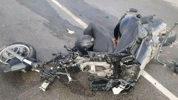 На трассе Белогорск-Феодосия погиб мотоциклист