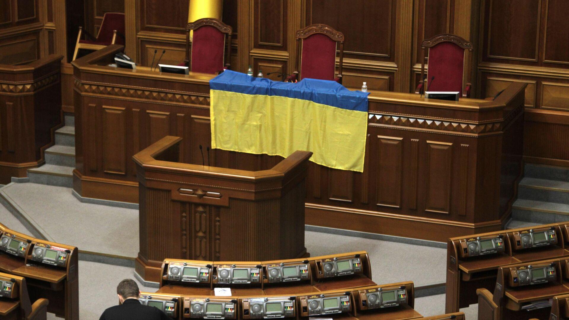 Верховная Рада Украины заблокирована оппозицией - РИА Новости, 1920, 11.10.2021