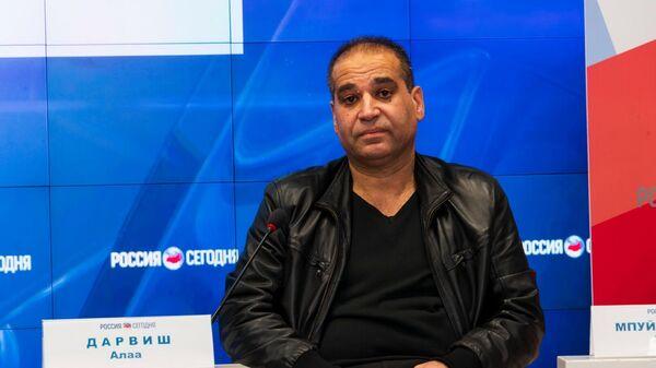 Филолог, выпускник Симферопольского государственного университета 1993 года Алаа ДАРВИШ (Сирия-Россия)