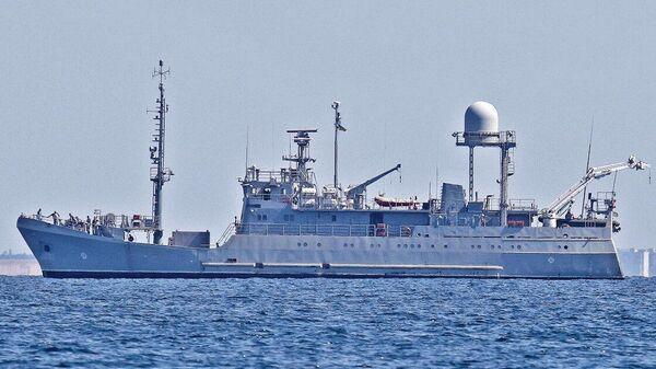 Судно размагничивания Балта ВМС Украины. Архивное фото