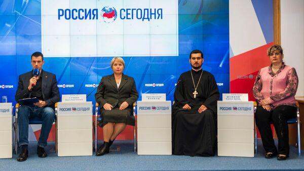 Пресс-конференция Нужен ли Крыму институт больничных капелланов?