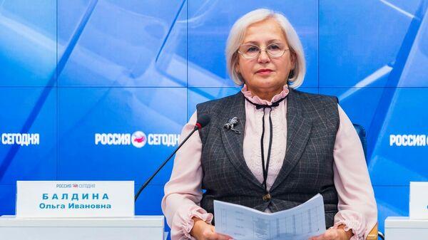 Руководитель Федеральной службы государственной статистики по Республике Крым и Севастополю Ольга Балдина.