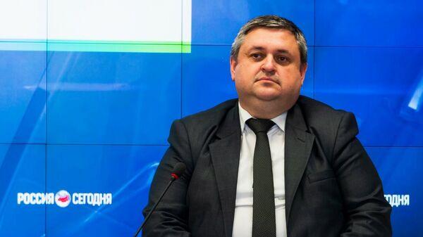 Заместитель министра экономического развития Республики Крым Олег Чибеляев.