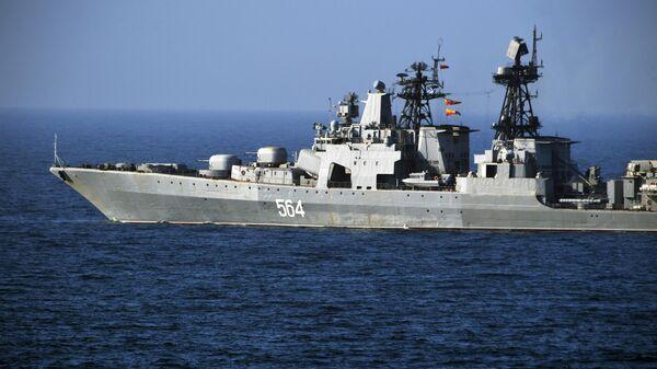 Большой противолодочный корабль (БПК) Тихоокеанского флота Адмирал Трибуц