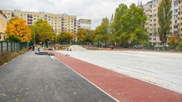 Капитальный ремонт стадиона средней общеобразовательной школы-детского сада №15 в Симферополе