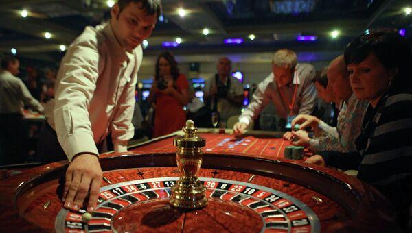 Зал для игры в рулетку