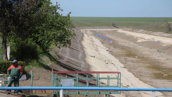 Северо-Крымский канал. Архивное фото.