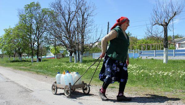 Ситуация с пресной водой в Крыму