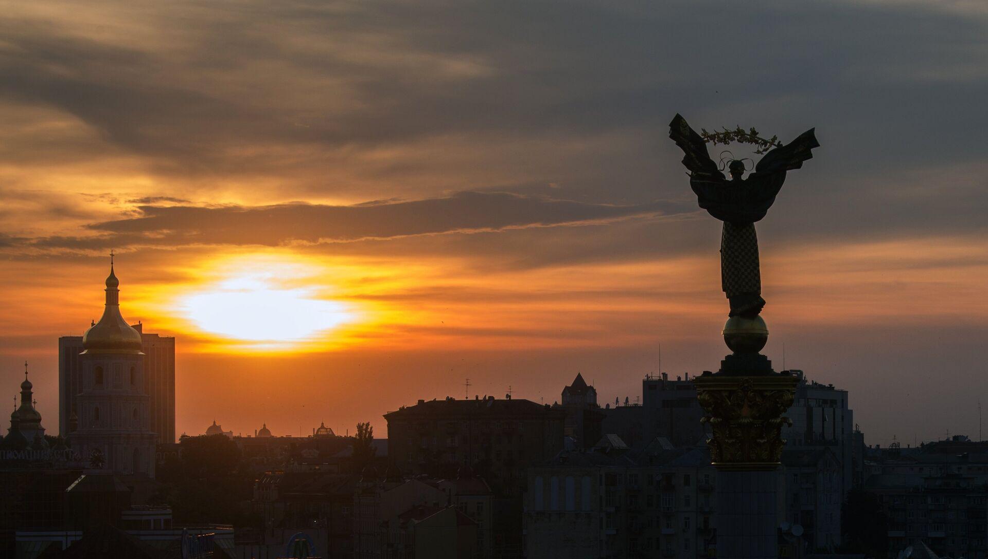 Площадь Независимости в Киеве - РИА Новости, 1920, 10.02.2021