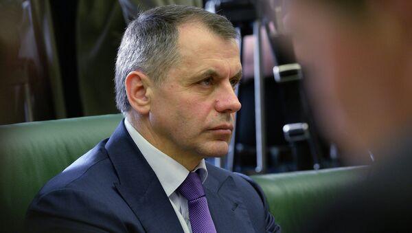 Председатель Государственного совета Крыма Владимир Константинов