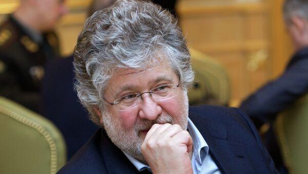 Игорь Коломойский на совещании