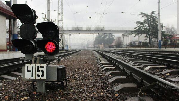 Украина прекратила движение пассажирских поездов через границу с Крымом