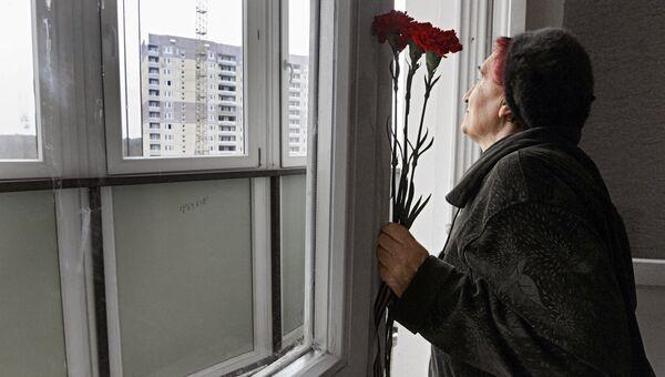Передача ключей от квартир ветеранам ВОВ