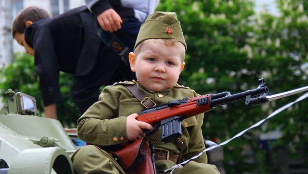 Вечер Дня Победы в Симферополе