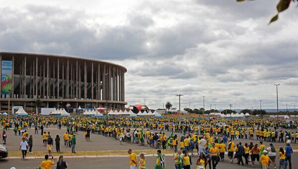 Футбол. Чемпионат мира - 2014. Матч Камерун - Бразилия