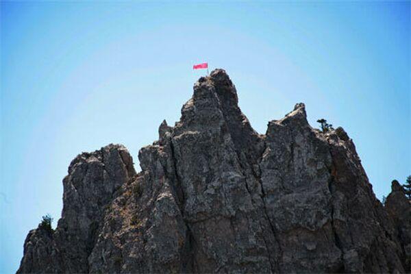 Знамя Победы на Ай-Петри