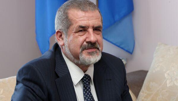 Народный депутат Украины, лидер незарегистрированной организации меджлис крымских татар Рефат Чубаров