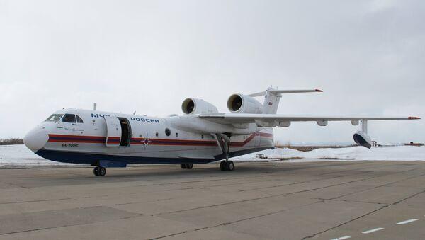 Самолёт Бе-200ЧС. Архивное фото
