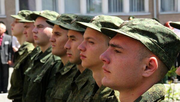 Первый призыв крымчан в российскую армию