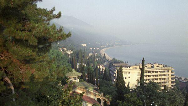 Абхазия. Город Гагра. Архивное фото
