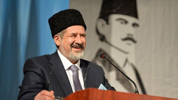 Национальный съезд крымских татар в Бахчисарае