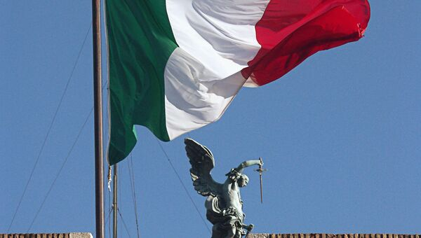 На крыше замка Святого Ангела в Риме