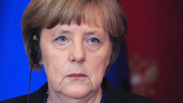Совместная пресс-конференция президента РФ В.Путина и канцлера Германии А.Меркель