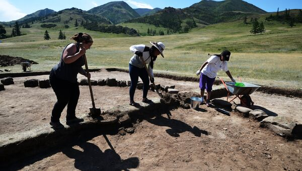 Международная археолого-географическая экспедиция Кызыл-Курагино