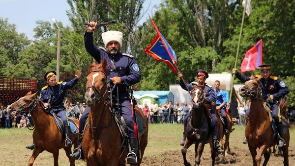 Конный переход казаков юга России Волгоград - Севастополь
