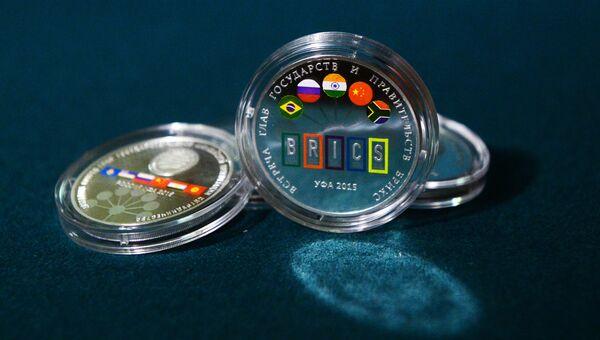 Банк России выпустил памятные серебряные монеты к саммитам ШОС и БРИКС в Уфе
