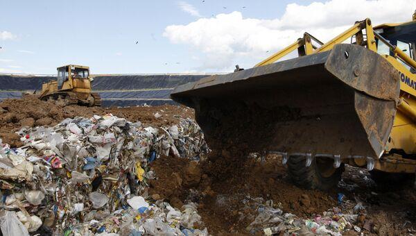 Полигон твердых бытовых отходов Чистый Город в Казани