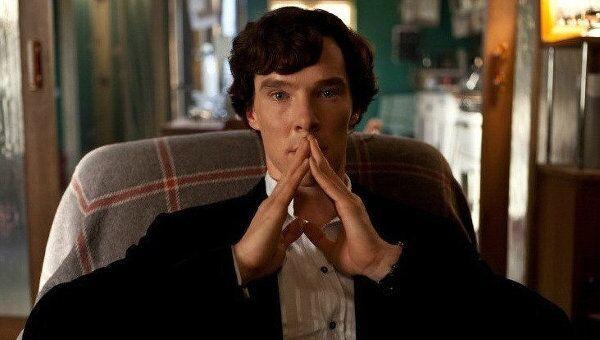 Кадр из сериала Шерлок, архивное фото