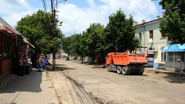 Улица Козлова в Симферополе