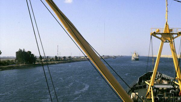 Суэцкий канал. Архивное фото