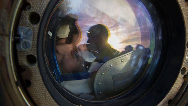 Возвращение на Землю экипажа 42/43 экспедиции МКС