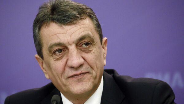 Пресс-конференция губернатора Севастополя С.Меняйло
